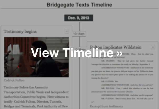 View Bridgegate Texts Timeline