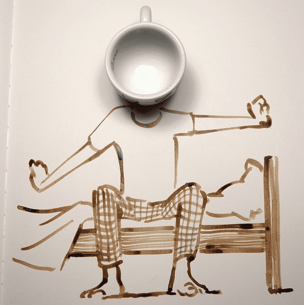 'yaaaawn' by Christoph Niemann
