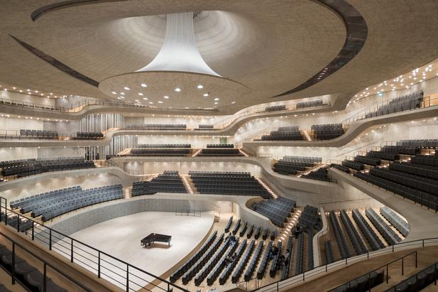 The Elbphilharmonie Grand Hall