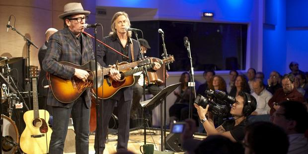 Elvis Costello in The Greene Space