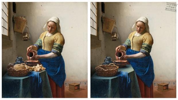 d'aprs Johannes Vermeer