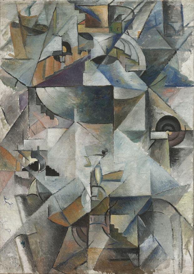 Kazimir Malevich, Samovar, 1913