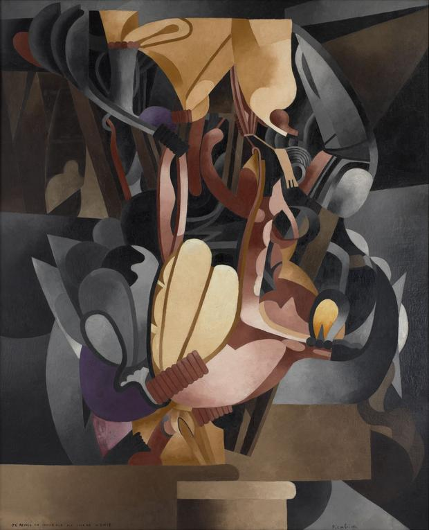 Francis Picabia, I See Again in Memory My Dear Udnie, 1914, possibly begun 1913