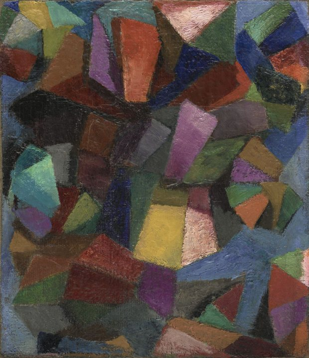 Morgan Russell, Creavit Deus Hominem (Synchromy Number 3: Color Counterpoint), 1913