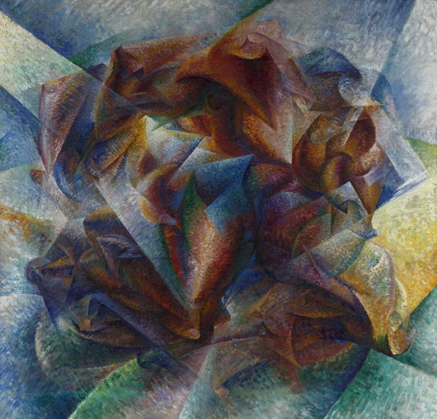 Umberto Boccioni, Dynamism of a Soccer Player, 1913