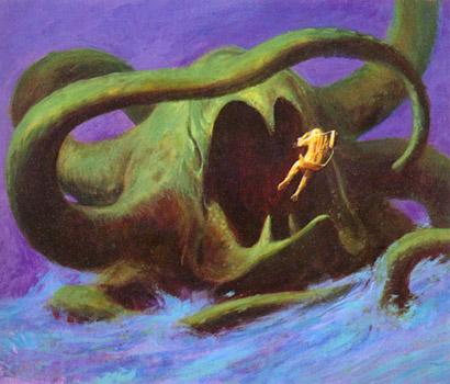Cover art for A. E. Van Vogt's 1970 novel <em>Quest for the Future</em>.
