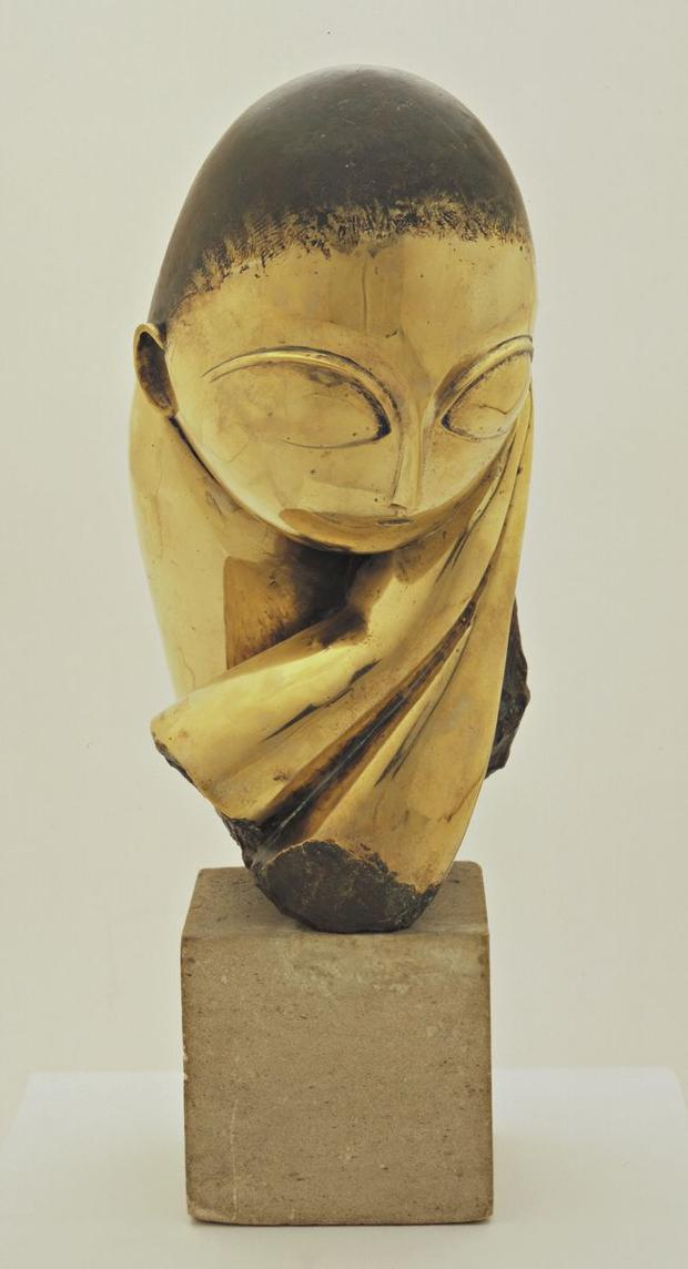 Constantin Brancusi, Mlle Pogany, version I, 1913 (after a marble of 1912)