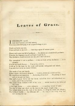 Walt Whitman Leaves of Grass American Icons Studio 360