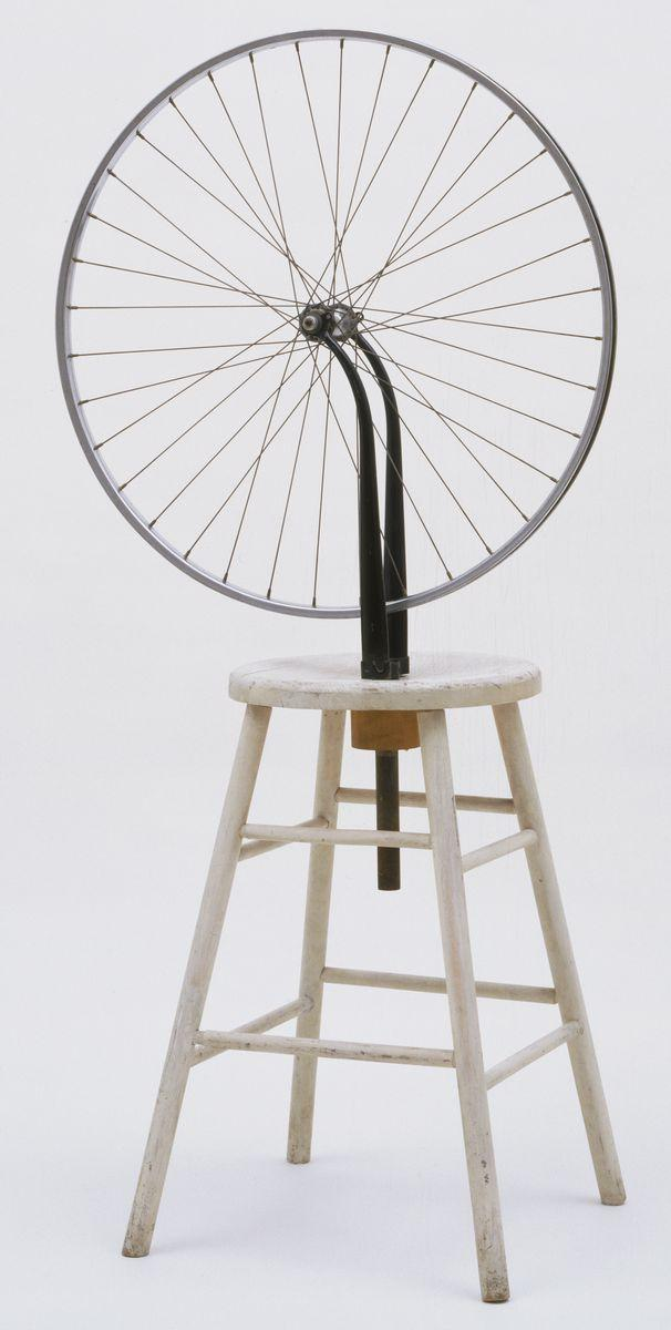 Marcel Duchamp, Bicycle Wheel, 1951 (third version, after lost original of 1913)