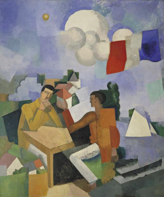 Roger de La Fresnaye, The Conquest of the Air, 1913