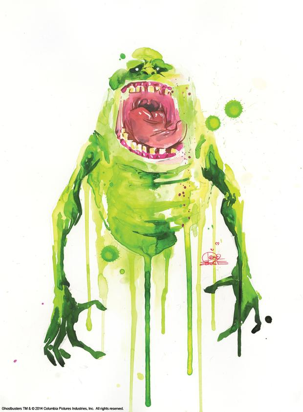 Slimer by Lora Zombie