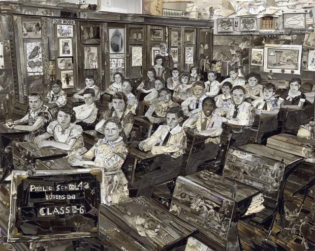 Classroom, Album, 2013, Digital C-Print (Vik Muniz)