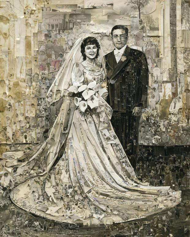 Wedding, Album, 2013,  Digital C-Print (Vik Muniz)