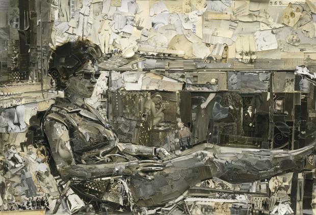 Sunbathing, Album, 2014,  Digital C-Print (Vik Muniz)