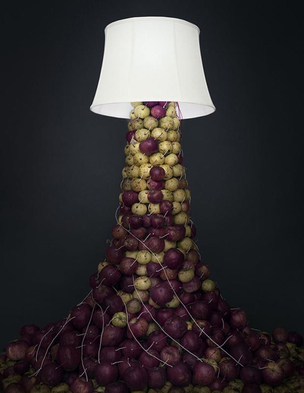 Apple Lamp, 2014 (Caleb Charland)