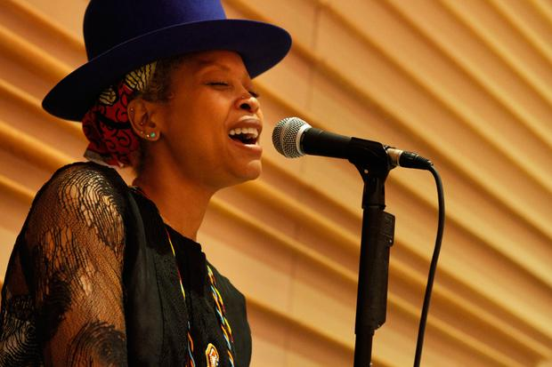 Erykah Badu performs with the Brooklyn Philharmonic on Saturday and Sunday June 8 and 9 at BAM.