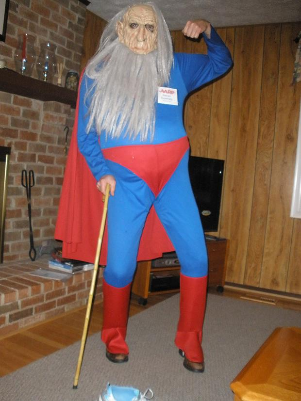 Retired Superman costume