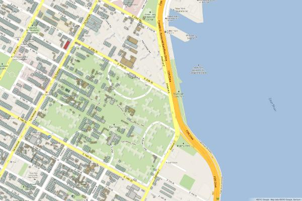 Using digital maps to study disaster preparedness and for Coopers east village