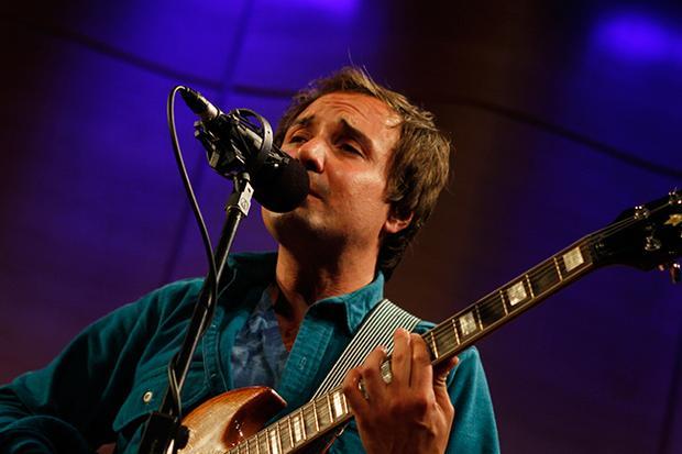 Daniel Rossen sings at the Greene Space.