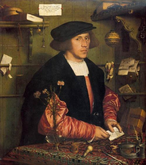 Hans Holbein the Younger's Portrait of the Merchant Georg Gisze