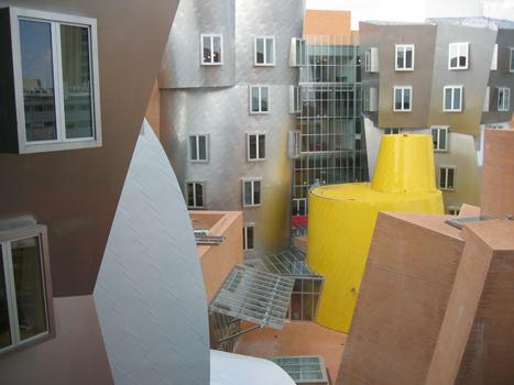 MIT's Stata Center, designed by Frank Gehry