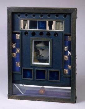 Untitled (Penny Arcade Portrait of Lauren Bacall), Joseph Cornell