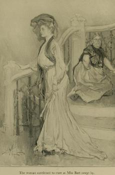 A.B. Wenzell Illustration, The House of Mirth