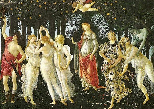 Botticelli's Primavera