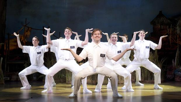 Mormon's singing, dancing missionaries, lead by Rory O'Malley.