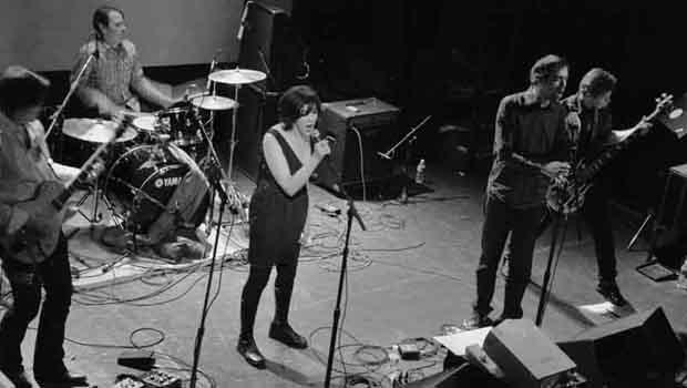 ECHO echo performed at the Bowery Ballroom on February 3.