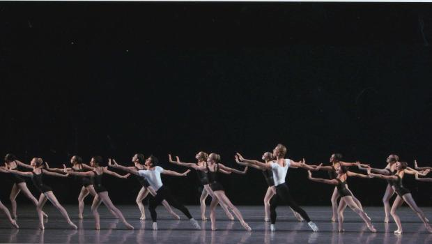 New York City Ballet in The Four Temperaments, choreographed by George Balanchine