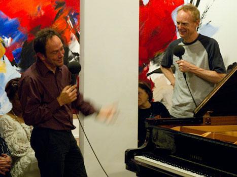 Composer Carlos Sánchez-Gutiérrez in conversation with John Schaefer