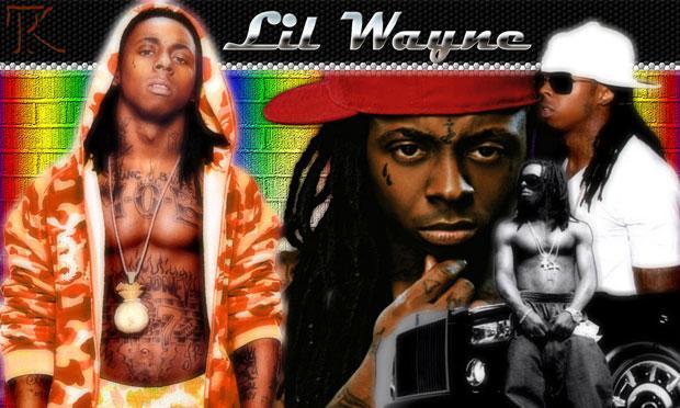 A fan collage of Lil' Wayne