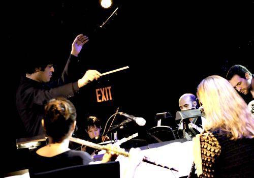 Michel Galante leads the Argento Ensemble