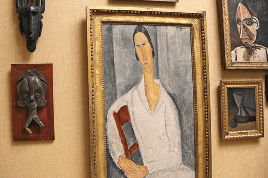Barnes Foundation, Philadelphia, Pennsylvania, Modigliani, Picasso, African sculpture