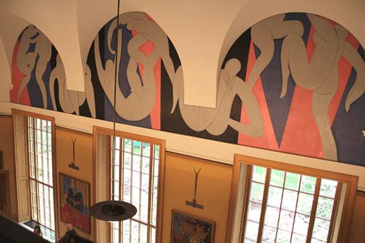 Barnes Foundation, Philadelphia, Pennsylvania, mural, Henri Matisse