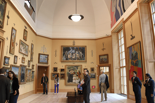 Barnes Foundation, Philadelphia, Pennsylvania, Cezanne, Renoir, Seurat, mural, Henri Matisse