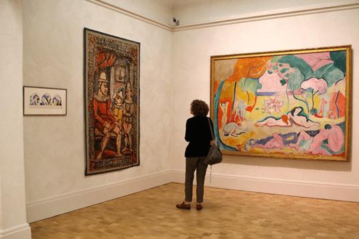 Barnes Foundation, Philadelphia, Pennsylvania, Joy of Life, Henri Matisse,