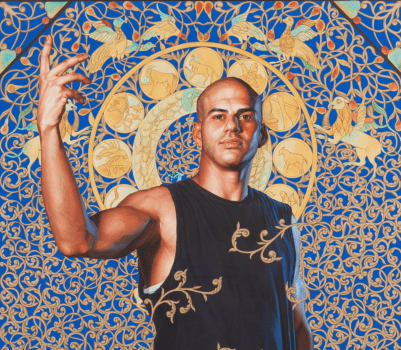 Leviathan Zodiac by Kehinde Wiley