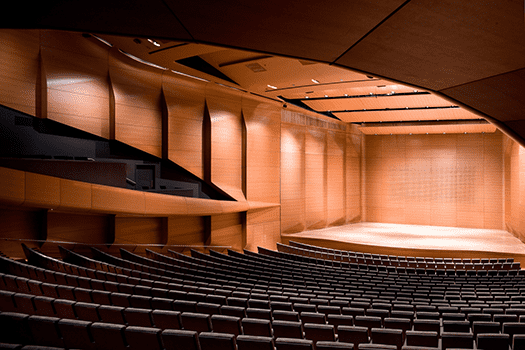 Violinist Cho-Liang Lin played dozens of times in the old hall, and says the renovated Alice Tully Hall is a vast improvement: You feel on stage the audience is more enveloping you. There's an extra g