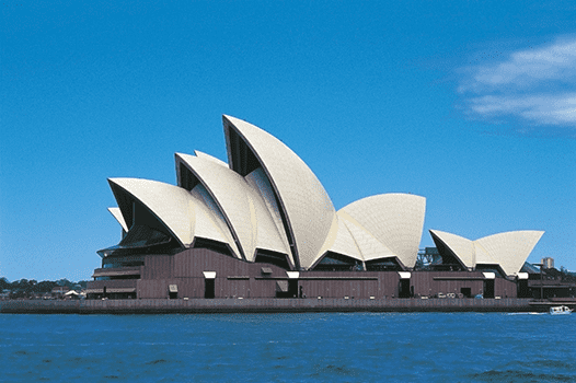 Australia's iconic Sydney Opera House (completed in 1973) was one of the first examples of destination architecture. But as Victoria Newhouse points out, it still struggles with acoustic problems.
