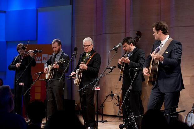 Steve Martin and the Steep Canyon Rangers in The Greene Space
