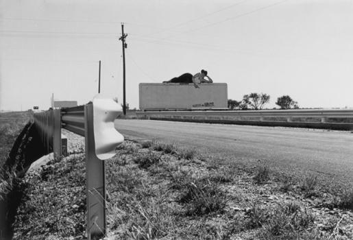 Lee Friedlander, Texas billboard