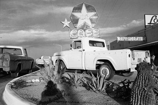 Lee Friedlander, Texas Cafe