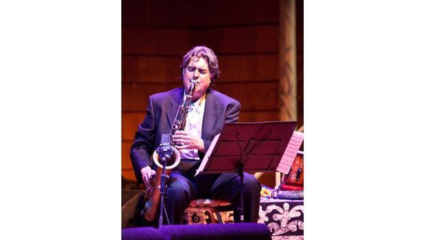 Sax player Tony Malaby