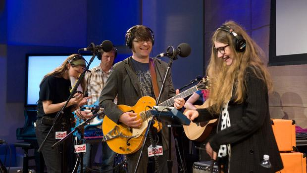 Colin Meloy and Becky Stark