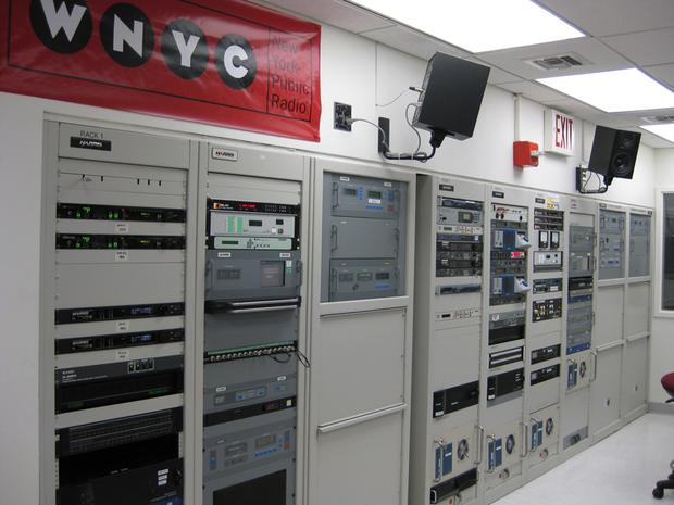 WNYC control room