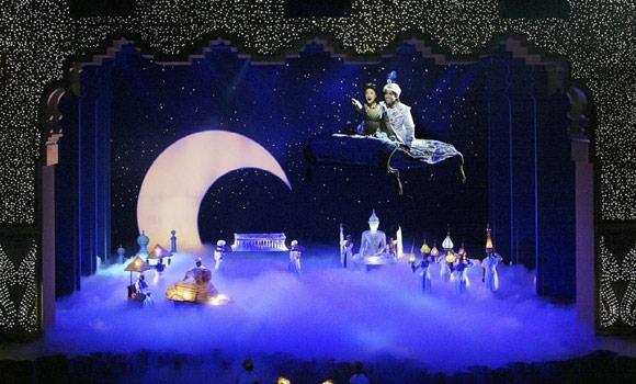 Disney's Aladdin at Disney's California Adventure, Hyperion Theater (2003 - present), directed by Francesca Zambello