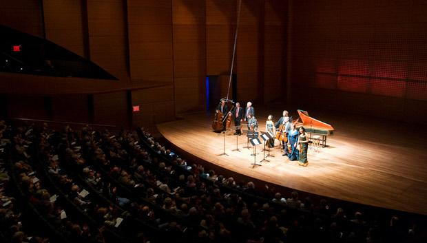 A Chamber Music Society performance in Alice Tully Hall