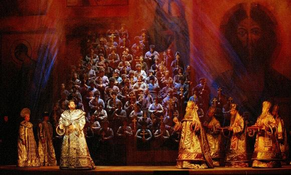 Boris Godunov at L'Opéra National de Paris, Bastille (2002), directed by Francesca Zambello